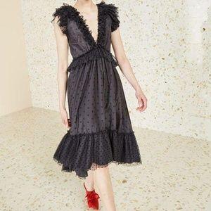 Ulla Johnson Noir Beckett Dress Size 4
